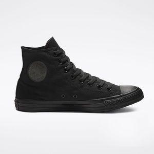 Converse Black Monochrome Hi Top Sneakers